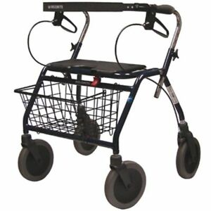 Nib Dolomite Design 650 Maxi Plus Rollator Mobility Assist Walker 450lb Medical