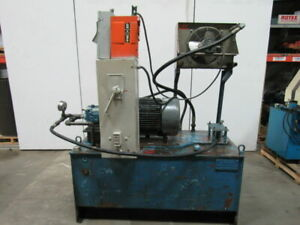 25hp 150 Gal Hydraulic Power Unit W denison Pv202lidc00 Pump 230 460v 3ph