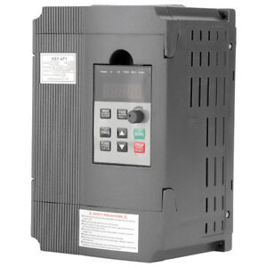 220v Single phase Variable Frequency Drive Vfd Ac Motor Speed Controller 1 5kw
