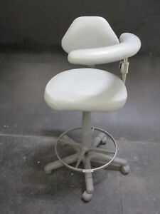 Used Ultraleather Dental Stool For Dentistry Operator Operatory Seating