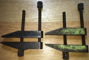 2 Starrett No 161 e Toolmakers Parallel Clamps As Pictured Free Shipping