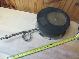 Bristol s Recording Pressure Gauge Antique 47 Steam Engine Part
