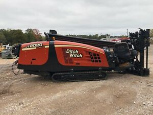 08 Ditch Witch Jt2020 Mach I Directional Drill Miles Equipment Sales
