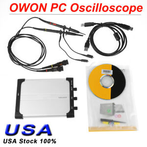 Owon 25mhz 100msa s Handheld 2 Channel Pc Usb Digital Storage Oscilloscope