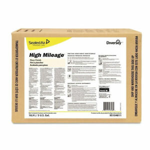 Diversey High mileage Uhs Floor Finish Light Scent 5 Gallons