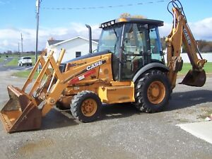 2005 Case 580 Super M Series 2 Backhoe