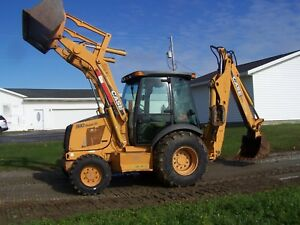 2005 Case 590 Super M Backhoe