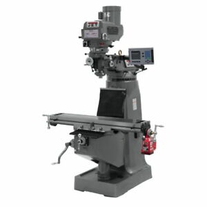 Jet 690107 Jtm 4vs Mill With Acu rite 200s Dro With X axis Powerfeed