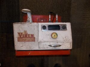Vintage Vixen Spark Plug Cleaner And Tester With Wall Mount