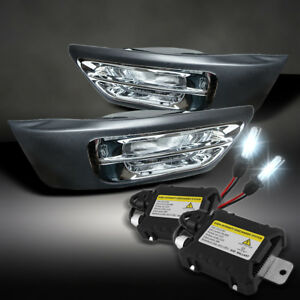 For Slim Ballast Xenon Hid Upgrade Kit 02 04 Honda Crv Clear Driving Fog Lights