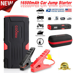 New Bolt Power D11 600 Amp Peak With 16500mah Car Battery Rd bk Jump Starter Usa
