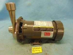 Teel Centrifugal Pump Xz47 Franklin Electric Motor 1313007188 3hp 208 230 460v