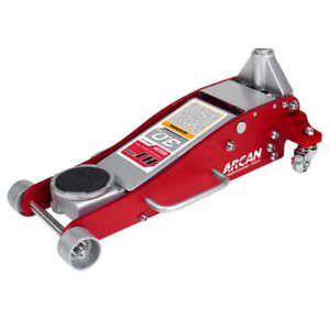 3 Ton Arcan Floor Jack Aluminum Steel Low Profile Quick Pump Lifting Car Garage