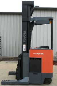 Toyota Model 6bru23 2002 4500 Lbs Capacity Great Reach Electric Forklift