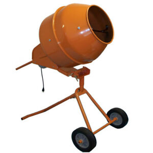 8 Cubic Ft Tall Portable Cement Mixer Concrete Mortar Mixer