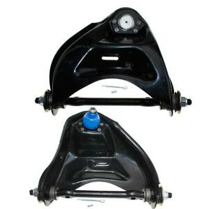 Pair 2 Of Front Upper Control Arms Lh Rh For Chevrolet S10 Gmc Jimmy Sonoma