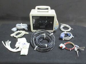 Mec 1200 Vet Medical Patient Monitor 2007 For Vital Signs W Accessories