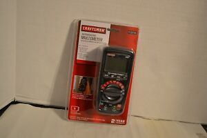 Craftsman Auto Ranging Multimeter With Non contact Voltage Detector 19736 New