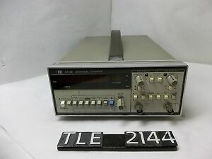 Hp 5315b Universal Counter tle2144