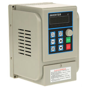 2 2kw 3ph Vfd Single Phase Motor Speed Control Variable Frequency Drive Inverter