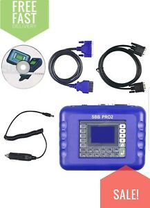 Newest Sbb Pro2 Key Programmer Tool V48 88 No Token Limitated Support New Cars