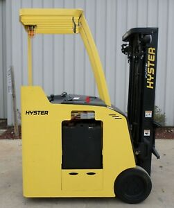 Hyster Model E30hsd 2004 3000 Lbs Capacity Great Docker Electric Forklift