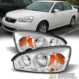 2004 2008 Chevy Malibu Ss Replacement Headlights Headlamps Pair 04 08 Left Right