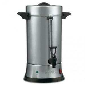 New Waring Commercial 110 Cup Coffee Urn Brewer Maker W warranty