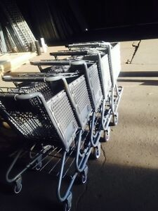Shopping Carts Small Mini Used Dollar Store Fixtures Gray Plastic Basket Lot 100