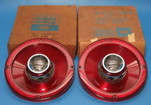 1965 Ford Custom 500 Galaxie Deluxe Tail Lamp Lenses