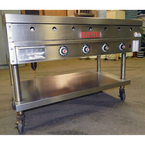 Vulcan Natural Gas 48 Heavy Duty Grill 1 Griddle Flat Top Thermostatic Grill
