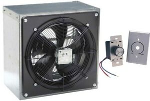 12 Exhaust Fan Axial 1208 Cfm 120 Volt 1 Phase Variable Speed Control