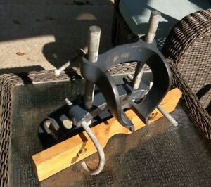 Vtg Delta Milwaukee No 1381 Mortising Attachment For 17 Drill Press Complete