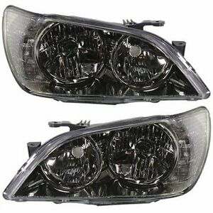 Hid Headlight Set For 2001 Lexus Is300 Left Right Pair