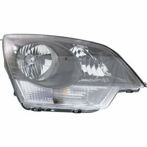 Headlight For 2015 Chevrolet Captiva Sport Right Clear Lens Halogen Composite