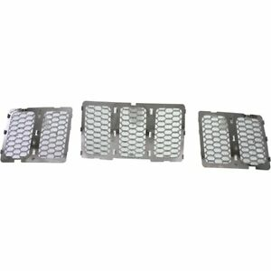 Grille Assembly For 2014 2016 Jeep Grand Cherokee Chrome Capa