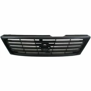 Grille Assembly For 95 97 Nissan 200sx Textured Black With Emblem Provision