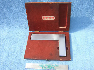 Starrett No 20 4 1 2 Vintage Square With Box Toolmaker Machinist Usa Squares