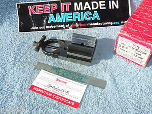 Starrett Fishtail V block 567 Usa 3228 Machinist Toolmaker Inspection Mill Grind