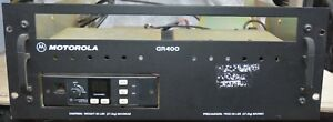 Motorola Gr400 Vhf Rack Mounted Repeater