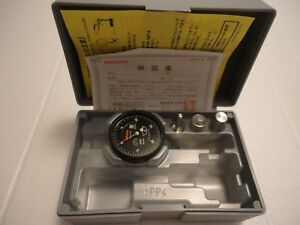 Mitutoyo 513 442 16 Dial Test Indicator 0005 Black Face Dial