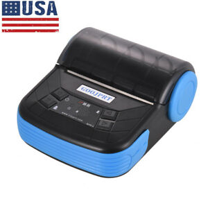 Mini Wireless 80mm Portable Bt Thermal Receipt Printer For Android Mobile O8a6
