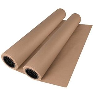 Brown Kraft Paper Roll 30 x150 Ft 1800 2 Rolls Made In Usa 100 Recycled For