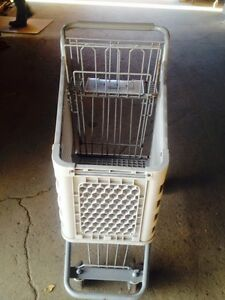 Shopping Carts Lot 50 Mini Dollar Store Small Used Fixtures Gray Plastic Baskets