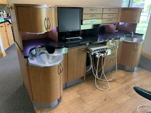 Lot 2 Pelton Crane Executive Dental Cabinets W Deliveries ex 96 Ex Models