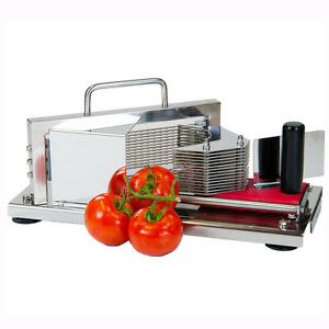 4mm Commercial Restaurant Tomato Fruit Cutter Slicer Cutting Slicing Machine