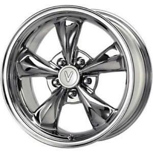 17x8 Chrome Voxx Replicas Ford Mustang Bullet Wheels 5x4 5 30 Toyota