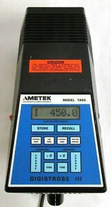 Ametek Digistrobe Iii Model 1965 Stroboscope Tachometer