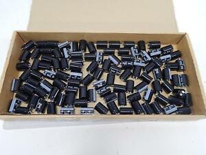 Lot Of 100 Panasonic Matsushita Eet hc2g151ba Fixed Aluminium Electrolytic Capa