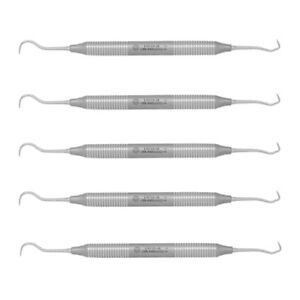 Osung Dental Sickle Scaler Anterior Towner Jacquette 5pcs 207 lsu15 30 5pk